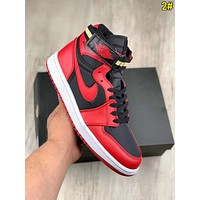 Nike Air Jordan Fashion Men Casual Classic High Top Sport Sneakers Basketball Shoes 2#