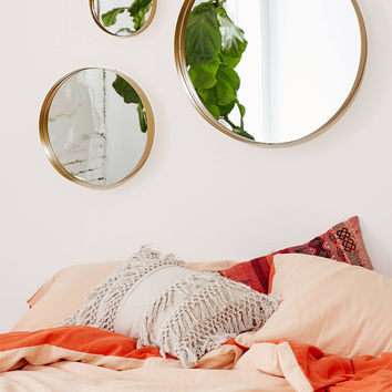 Averly Circle Mirror   Urban Outfitters