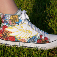 Percy Jackson Inspired Shoe Wings