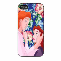 beauty and the beast floral cases for iphone se 5 5s 5c 4 4s 6 6s plus