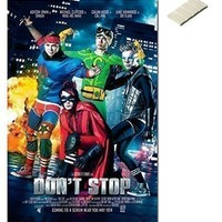 Bundle - 2 Items - 5sos Don't Stop 5 Seconds Of Summer Poster - 91.5 x 61cms (36 x 24 Inches) and Small Block Of White Tack