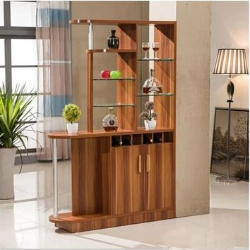 Well Crafted Luxurious Wooden Bar Cabinet