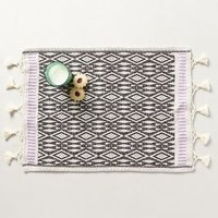Netted Fringe Placemat by Anthropologie Lilac Placemat House & Home