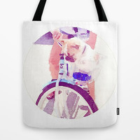 Dog Tote Bag by Elyse Notarianni