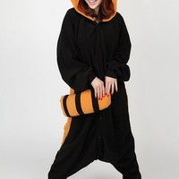 Racoon Red Panda Animal Adult Kigurumi Onesuit