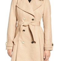 Jessica Simpson Fit & Flare Trench Coat | Nordstrom