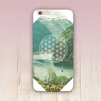 Flower of Life Phone Case For - iPhone 6 Case - iPhone 5 Case - iPhone 4 Case - Samsung S4 Case - iPhone 5C - Matte Case - Tough Case
