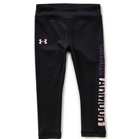 Under Armour Little Girls 2T-6X Pearlescent Leggings | Dillards