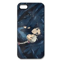 """Vcase-009 The Cartoon """"Howl's Moving Castle"""" Hard Printed Case Cover Protector for Apple iPhone 5"""