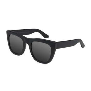 Gals Mirrored Sunglasses, Black - Super by Retrosuperfuture