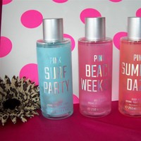 VICTORIA'S SECRET PINK BODY MIST BEACH WEEKEND SUMMER DAZE SURF PARTY *U PICK*