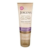 Jergens Natural Glow 3 Days To Glow Daily Moisturizer Fair to Medium Skin Tones, 4 Ounce