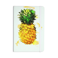"Oriana Cordero ""Slice of Summer"" White Yellow Everything Notebook"