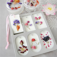 DIY Aromatherapy Wax Silicone Mold Super Popular Mold Flower Ornaments Wax Mold Soap Candle Mold DIY Clay Crafts