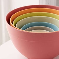 Bamboozle Rainbow Nested Mixing Bowl Set - Urban Outfitters