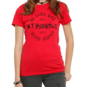My Chemical Romance So Long And Goodnight Girls T-Shirt