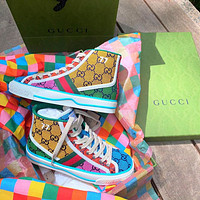 GG Tennis 1977 High Top Multicolor Sneakers Shoes-10