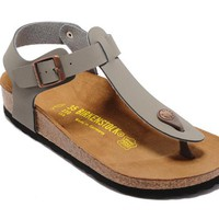 Men's and Women's BIRKENSTOCK sandals Kairo Oiled Leather 632632288-017