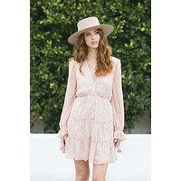 Judith Front Button Mini Dress