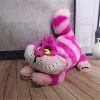 1pcs 30cm Alice in Wonderland the Cheshire Cat Kawaii Plush Toys Cute Smile Cat Stuffed Animals Kids Gifts Soft Toys