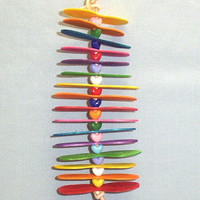 Joy Of Spoons - Small Bird Toy - Wood Bird Toy