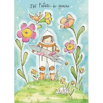 The Future is Yours Greeting Card