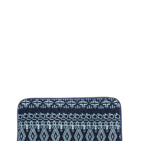 Tribal Talk Denim Wallet GoJane.com
