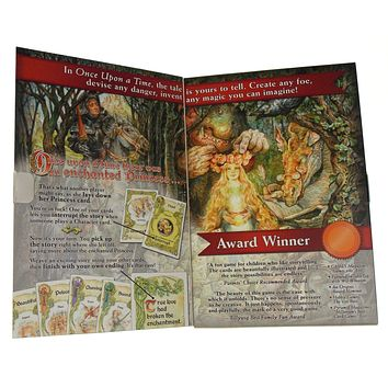 Once Upon A Time The Storytelling Card Game Atlas 2-6 Players Tales Family Gift