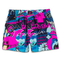 Timeless Boxers in Navy –Pink+Dolphin