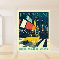 Anderson Design Group's Times Square Mural wall decal