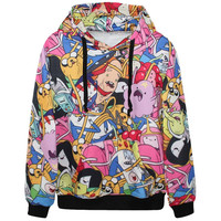 Adventure Time 3D Graphic Hoodie- Free Shipping