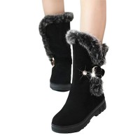 Snow Boots High Heels Shoes