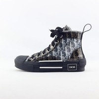 Christian Dior B23 High-Top Dior Oblique Sneakers - Best Deal Online
