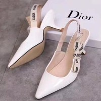 Dior Women Fashion Heels Sandals Shoes-3