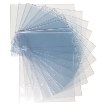 UberChic Beauty - Holographic Storage Binder Refill Pages - Pack of 10