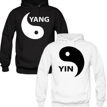 YIN YANG Couple Hoodies