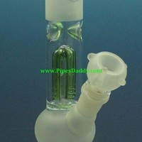 Mini Cyborg Glass Water Pipe - Frosted
