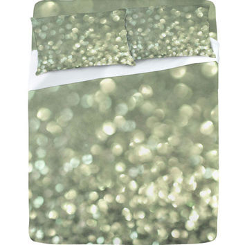 DENY Designs Home Accessories | Lisa Argyropoulos Mingle 2 Silver Screen Sheet Set