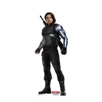 Captain America Civil War Winter Soldier Cardboard Standup