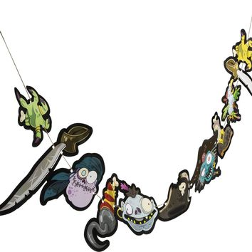zombie pirate garland Case of 23
