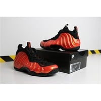 Air Foamposite One Habanero Red Basketball Shoe Size 41--46