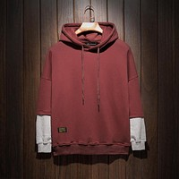 2017 Hoodies Brand Clothing Men Sweatshirt Plus Size Hooded Male Hoody Hip Hop Autumn Winter Hoodie Mens Pullover Tracksuit 5XL