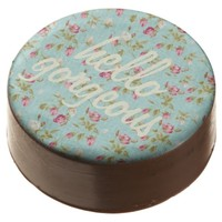 Hello gorgeous vintage floral rose shabby shower