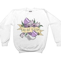 Call Out Sexism -- Unisex Sweatshirt