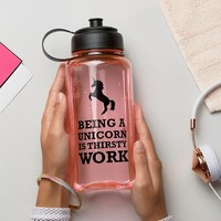 New Look Unicorn Large Water Bottle at asos.com