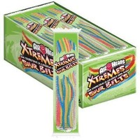 Airheads Xtreme Sour Belts Candy, 36 Ounce