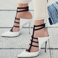 Hot style is a hot seller of the popular costumed sandals with high heels