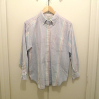 Pastel Button Up Blouse