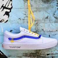 Vans Old Skool -14 Willy & Off White new fashion shoe White