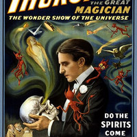 Thurston The Great Magician  Magic Poster